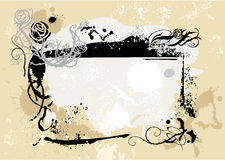 Grunge frame 3 Royalty Free Stock Photos