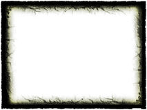 Grunge Frame. Grunge Black Frame royalty free illustration