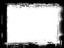 Grunge Frame. An illustration of a grunge frame in black & white stock illustration