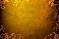 Grunge frame. Hi res grunge backgrounds - perfect background with space for text or image Stock Photo