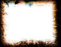 Grunge Frame. For background stock illustration