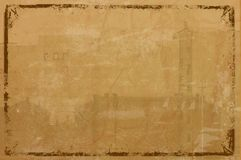 Grunge frame achtergrond Royalty-vrije Stock Fotografie
