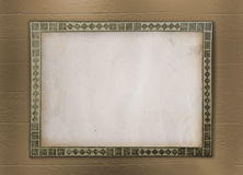 Grunge frame for album Stock Image