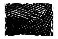 Grunge Frame Background. Artistic messy frame background. Paint overlay roller distress border texture. Paint roller distress overlay dirty backdrop. Grunge vector illustration