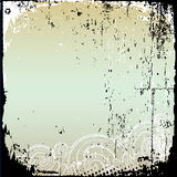 Grunge frame and border series. 2d Royalty Free Stock Image