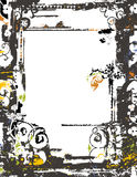Grunge frame and border series Stock Image