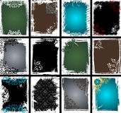 Grunge Frame Collection Stock Photography