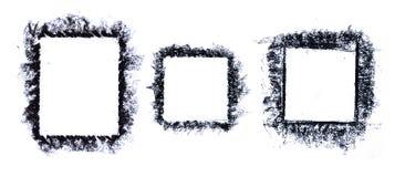 Grunge Frame 3 in 1 Stock Image