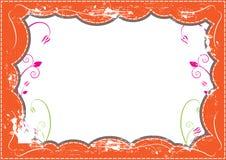 Grunge frame design Stock Image