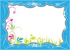 Grunge frame design Stock Images