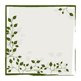 Grunge frame for design use Stock Photography