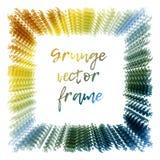 Grunge frame.Grunge background. Stock Image