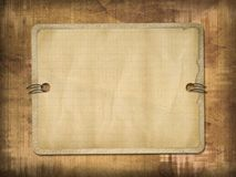 Grunge frame for the invitation Royalty Free Stock Images