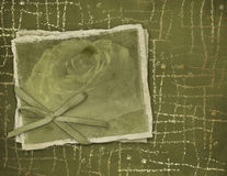 Grunge frame for the invitation. To an abstract background Stock Photo