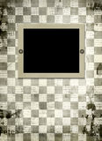 Grunge frame from old papers Royalty Free Stock Photos
