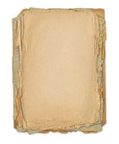 Grunge frame for old portrait or picture Royalty Free Stock Photography