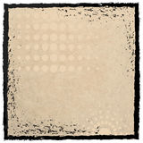 Grunge frame with paper texture Royalty Free Stock Images