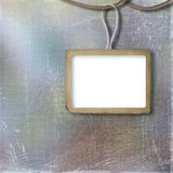 Grunge frame for photo, on the abstract background Royalty Free Stock Images