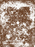 grunge frame rust medieval background Royalty Free Stock Photography