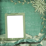 Grunge frame in scrapbooking style Royalty Free Stock Photo