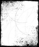 Grunge Frame with Scratches Royalty Free Stock Image