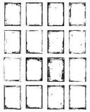 Grunge Frame set. For your design stock illustration