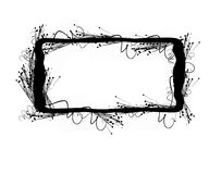 Grunge frame with space for writing. Write your own stuff in the frame royalty free illustration