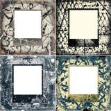Grunge frame textures Stock Photos