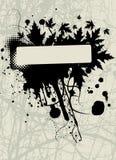 Grunge frame vector Stock Image