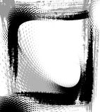 Grunge frame, vector Stock Photography