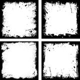 Grunge frames Royalty Free Stock Images