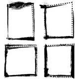 Grunge frames vector Stock Images