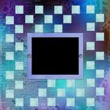 Grunge frameworks for invitation Stock Image