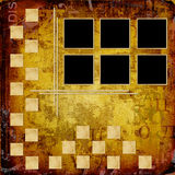 Grunge frameworks for invitation Royalty Free Stock Images