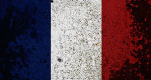 Grunge France Flag Royalty Free Stock Photos