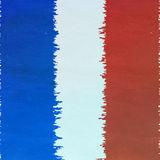 Grunge France flag Royalty Free Stock Photography