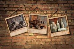 Grunge Galerie lizenzfreie stockfotografie