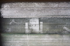 Grunge garage door Royalty Free Stock Images