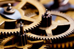 Grunge gear, cog wheels background. Industrial tech royalty free stock photo