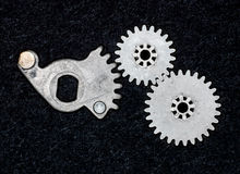 Grunge gears 1 Royalty Free Stock Photos