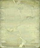 Grunge gebarsten bamboeachtergrond met frame stock fotografie