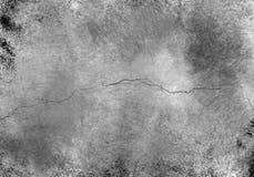 Grunge Gebarsten Muur vector illustratie