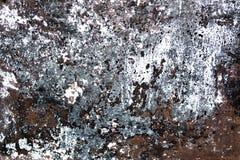 Grunge geborstelde metaalachtergrond De donkere versleten roestige achtergrond van de metaaltextuur Versleten staaltextuur of met Royalty-vrije Stock Foto's