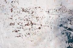 Grunge geborstelde metaalachtergrond De donkere versleten roestige achtergrond van de metaaltextuur Versleten staaltextuur of met Royalty-vrije Stock Foto