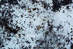Grunge geborstelde metaalachtergrond De donkere versleten roestige achtergrond van de metaaltextuur Versleten staaltextuur of met Stock Afbeelding