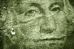 Grunge Geld Stockfoto