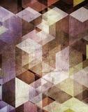 Grunge geometric background Royalty Free Stock Photo