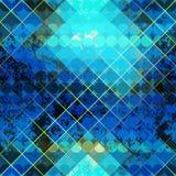 Grunge geometric diagonal pattern. Stock Photos