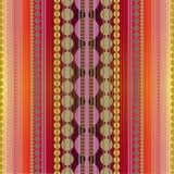 Grunge geometrisch patroon Royalty-vrije Stock Afbeelding