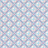 Grunge geometrisch patroon Stock Foto's